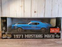 Sun Star 1971 Ford Mustang Boss 351 Mach 1 1:18 Scale Diecast Model Car