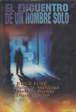 DVD - El Encuentro De Un Hombre Solo NEW Jorge Luke Diana FAST SHIPPING !