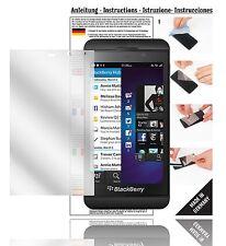 6x Displayschutzfolien für Blackberry Z10 Schutzfolie Klar Folie Displayfolie