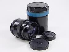 Black Rangefinder 85mm f/2 JUPITER-9 Zorki Leica LTM39 s/n 7305128. Sonnar USSR