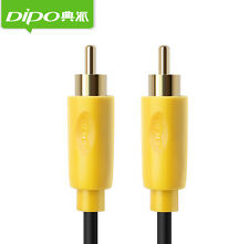 Genuine Dipo Shield Coaxial Audio/Video RCA Cable M/M RG59U 75ohm S/PDIF Digital
