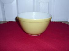 Vintage Pyrex 401 Yellow Mixing Bowl 1 1/2 Pt.