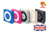 iPod Shuffle 2 3 4 generation SILVER GREY RED GREEN BLUE PINK Warranty 1 2 4GB