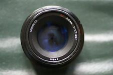 Minolta AF 50 f1.7 Lens Very Good Condition for SONY DSLR