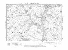 Cornwall Old map of St Tudy 1907 repro Corn-20-SW