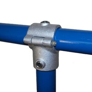 Interclamp Tube Clamp Pipe Clamp Key clamp 136 - Clamp-on Tee (2 Bolt) C42 & D48