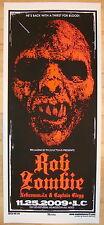 2009 Rob Zombie - Columbus Silkscreen Concert Poster S/N by Martin