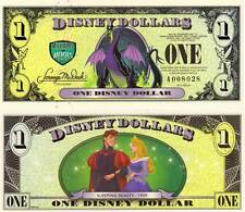 Disney Dollar 2013 banknote - Sleeping Beauty unc