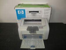HP LaserJet 1018 Standard Laser Printer PAGE COUNT 6775