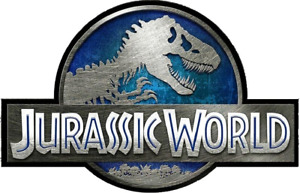 Jurassic World Logo Cake Topper Edible Wafer Paper Cake Toppers ANY SIZE