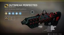 OUTBREAK PERFECTED ARC/VOID/SOLAR CONFIGURATION Destiny 2 PC(XBOX/PS4 crosssave)