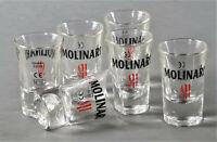 Molinari Sambuca Extra Shotglas 2cl 6er Set Schnaps Stumper Likör Gläser(3681-6)