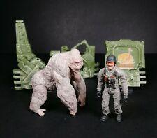 Rampage The Movie Subject George Gorilla Soldier Figure Play Set Lanard Toys