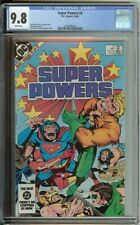 Super Powers #4 CGC 9.8 DC Comic 1984 White Pages Wonder Woman Flash Jack Kirby