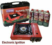 Portable Gas Cooker Stove , 2/4/8 Butane Bottels Camping Gas Cans Out Door...