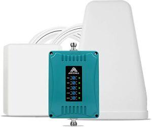 Handy Signalverstärker 2G 3G 4G 800/900/1800/2100/2600MHz Daten Stimme O2 Eplus