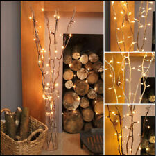 85 cm Wooden LED Twig Lights Tree Branches Battery Operated Festive Decoration