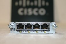 Cisco HWIC-4ESW-POE 4 Port 10/100 Ethernet Switch Interface Card HOLOGRAM