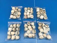72 coquilles à escargots en grès godet plat poelon 6 douzaine tbe rare N°1