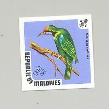 Maldives #452 Birds 1v Imperf Proof from set