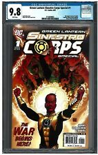 GREEN LANTERN SINESTRO CORPS SPECIAL #1 CGC 9.8 (8/07) DC white pages