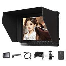 "1080P 7"" IPS Full HD 4K HDMI On-camera Video Monitor For Nikon Canon Sony Pentax"