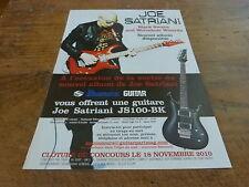 JOE SATRIANI - BLACK SWANS!!!!!!!!!!FRENCH PRESS ADVERT
