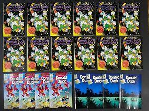 LAST ONES Lot of (20) Walt Disney's Donald Duck Adventures (1988-92) Gladstone