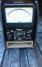 Simpson 260 Series 8 In Tested Working Condition With Case
