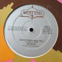 "MICHELE ~ Disco Dance ~ 12"" Single USA PRESS"