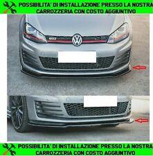 LIP SPOILER SOTTO PARAURTI ANTERIORE VW GOLF 7 GTI ABS NERO LUCIDO SPLITTER 0024
