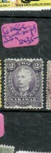 SARAWAK (P2612B) 1895 BROOKE 2C COLOR TRIAL MOG  ANTIQUE OVER 100 YEARS OLD