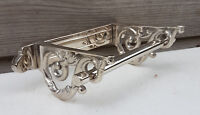 Victorian Toilet Roll Holder Chrome Vintage Edwardian Novelty Silver Nickel