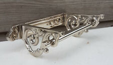 Victorian Toilet Roll Holder Chrome Vintage Edwardian Novelty Silver Nickel