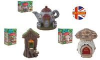 Decorative Secret Fairy Enchanted Garden Magical Houses Outdoor Ornaments