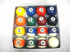 "2 1/4"" Billiard Balls Pool Balls Set Free AU Postage"