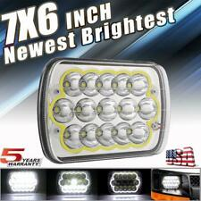 7x6'' 5x7 LED Headlight 300W CREE Hi/Low Beam DRL For GMC Savana 1500 2500 3500