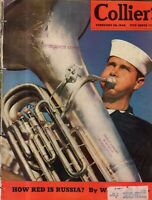 1942 Colliers February 28 - Canadian Colonial; Pearl S. Buck; Cohen;Sharks;Tuba