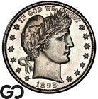 1892 S Barber Half Dollar Proof Like Look Choice AU Key Date!