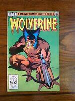 Wolverine #4 (Dec 1982, Marvel)  -  LIMITED SERIES **/ FRANK MILLER ART **/ NM+