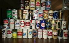 Lot of 42 Different Steel Beer Cans - Free Shipping