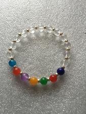 7 Chakra Bracelet, Chakra Mala Beads, Yoga Jewelry
