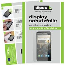 Alcatel One Touch Idol screen protector protection guard anti glare