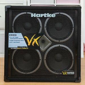 """Hartke VX410 Bass Guitar Cabinet  4 x 10"""" Speakers COLLECTION ONLY"""