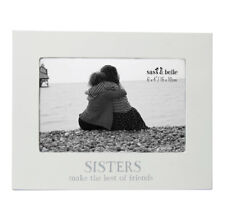 Sisters make the best friends Photo frame.slogan frame. Sisters, family. Gift