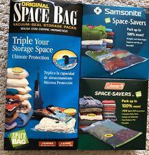 Original Space Bag Samsonite Coleman Space Savers Bags - Vacuum Storage Bags NEW