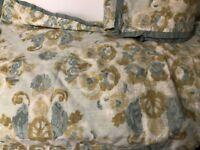 Laura Ashley King Size Pillow Shams x 2