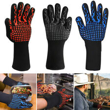 1472℉ Extreme Heat Resistant Gloves BBQ Hot Grilling Cooking Oven Safety