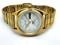 vintage citizen automatic gold plated men's japan made wrist watch