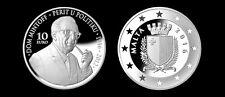 MALTA Silver Coin Euro - PERIT DOM MINTOFF 2016 - RARE and SPECIAL EDITION